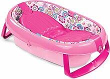Babybadewanne Babybadewanne / Baby-faltende aufblasbare Badewanne Baby-Badewanne Große gepolsterte Kindbadewanne faltbar / 0-24 Monate Baby-Badewanne ( Farbe : Pink )