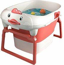 Babybadewanne, Klappbad, tragbare Badewanne für