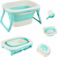 ® Babybadewanne mit 4 Teilen Babywanne Badewanne