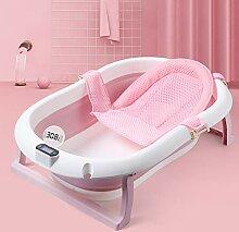Babybadewanne mit Thermometer, Baby Neugeborene