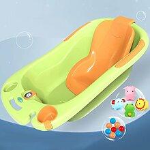 Babybadewanne Neugeborene Wanne Sitzbadewanne Baby-Universalwanne Kinderbadewanne ( Color : Yellow )