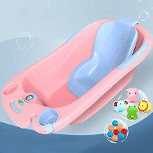 Babybadewanne Neugeborene Wanne Sitzbadewanne Baby-Universalwanne Kinderbadewanne ( Color : Pink )