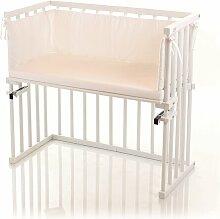 Babybay Beistellbett babybay Farbe: Weiß