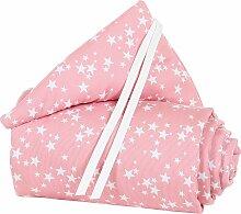 Babybay® Nestchen Piqué für Maxi, Boxspring und Comfort rosa