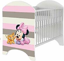 Babybett 120x60 cm Kinderbett DISNEY 101