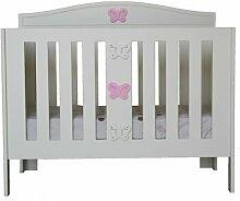 Babybett Anne HoneyBee Nursery Farbe: Rosa