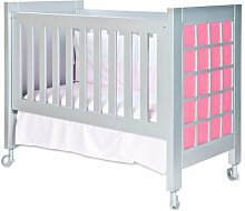 Babybett Belant HoneyBee Nursery Beschichtung: Rosa