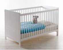 Babybett Gitterbett mit 70x140cm Liegefläche