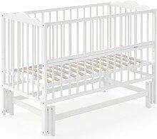 Babybett Konni Isabelle & Max Farbe: Weiß