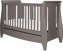 Babybett Lucas Tutti Bambini Farbe: Kühles Grau