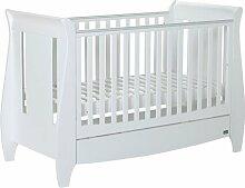 Babybett Lucas Tutti Bambini Farbe: Weiß