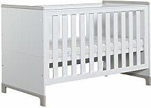 Babybett Mini 140 x 70 cm, Gitterbett, Multi