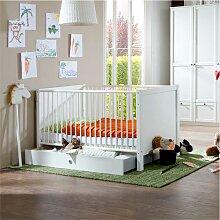 Babybett mit Schubkasten Schlupfsprossen