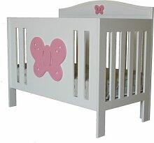 Babybett Palometa HoneyBee Nursery Farbe: Rosa