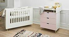 Babybett Town, 70x140 cm, pink