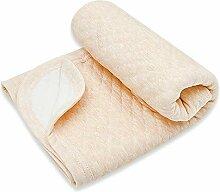 Babydecke 100x100cm aus 100% Bio Baumwolle, warme,