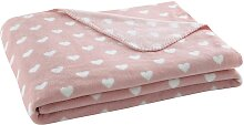 Babydecke CUR rosa, 130x170