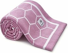 Babydecke Honeycomb Nordville Farbe: Rosa