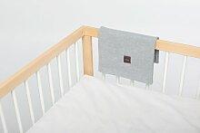 Babydecke Mokee Farbe: Melange Grau