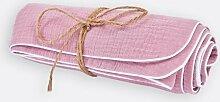 Babydecke Musselin KraftKids Farbe: Rosa