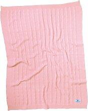 Babydecke Nordic Coast Company Farbe: Rosa