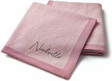 Babydecke Nordville Farbe: Rosa