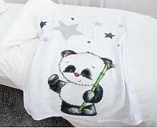 Babydecke Panda Fynn Herding Heimtextil