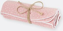Babydecke Punkte KraftKids Farbe: Rosa