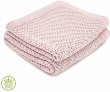 Babydecke Ziggy Isabelle & Max Farbe: Rosa