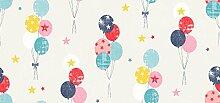Babyfrücht Baumwollstoff BL: Luftballon Fb. bunt,