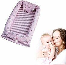 Babynest Kuschelnest Babynestchen 100% Baumwolle
