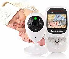 Babyphone mit 2,4-Zoll-LCD-Display,