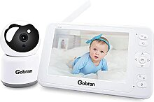 Babyphone mit Kamera 5 Zoll 1080P HD Video