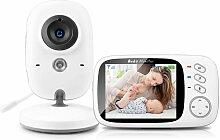 Babyphone mit kamera 720P, Video Überwachung mit