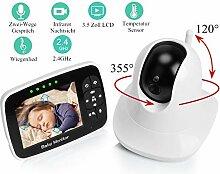 Babyphone mit Kamera Video Baby Monitor 3,5 Zoll