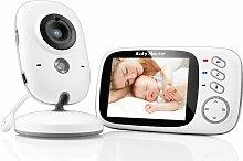 Babyphone mit Kamera, Video Überwachung Baby