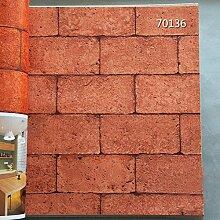 BABYQUEEN Bar Wallpaper antiken chinesischen Brick Restaurant bar Wallpaper D