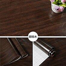 BABYQUEEN Dick Wasserdicht Möbel Renoviert Aufkleber Aufkleber Mit Holzmaserung Tapete Selbstklebende Tapete Schlafzimmer Wohnzimmer Wand Schranktüren 1.2*5m D