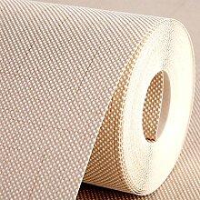 BABYQUEEN Die Emulation Leinen Farbe Vlies Tapete pixel Farben gehalten, mit einfachen und modernen Wohnzimmer mit Schlafzimmer Tapete Studie Office Tapete Reis Gelb