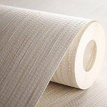 BABYQUEEN Farbe Tapete Nicht Gewebt Bettwäsche Designs Minimalistischen Modernen Wohnzimmer Und Schlafzimmer Studie Tapete Weiß 0.53*10m