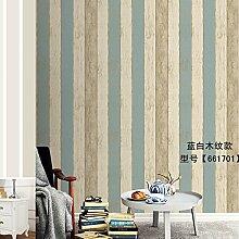 BABYQUEEN Mediterrane vertikale Streifen Tapete Schlafzimmer Wohnzimmer jungen Kinder Zimmer D