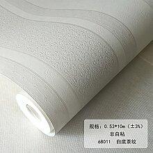 BABYQUEEN Pixel Color Continental Floweret Strukturtapete Wohnzimmer Schlafzimmer Bett Für Kinder Tapeten Weiß Unten Kaffee Muster 0.53*10m