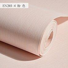 BABYQUEEN Reine Farbe Vlies Tapete Wohnzimmer Schlafzimmer Minimalistischen Papier Rosa
