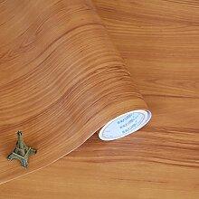 BABYQUEEN Selbstklebend dicke Mauer Papier Küchenschränke renoviert Möbel renoviert Tapete Orange