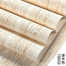 BABYQUEEN Umwelt Vlies Tapete Mit Holzmaserung Modernen Minimalistischen Schlafzimmer Wohnzimmer Tv-Wand Papier Hintergrund Holz 0.53*10m