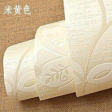 BABYQUEEN Vlies Tapete Stereoskopische 3D Warmen Blumen Schlafzimmer Wohnzimmer Tv Wand Papier Hintergrund Eine Hellbeige