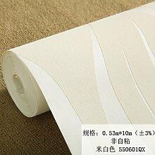 BABYQUEEN Vliestapeten Wasser Welligkeit stereoskopische Beflockung Hintergrund wand Wohnzimmer Tapete Weißer Reis