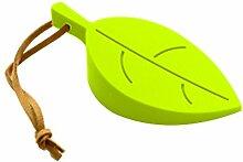 Babysbreath 1x Silikon Blatt Blätter Home Türstopper Stopper Jammer Baby Sicherheit Schutz grün