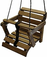 Babyschaukel 5 Möglichkeiten! Kinderartikel Kinderschaukel Holzschaukel (Palisander ohne Matraze)