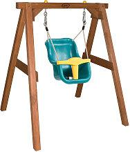 Babyschaukel axi Baby Swing with seat , Braun ,